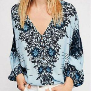 Free People I Birds of a Feather Blouse Size Small